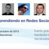 Mesa redonda #CMUA: ¿hay oportunidades laborales en social media?