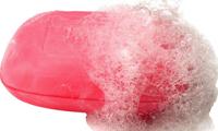 pastilla de jabón resbaladiza