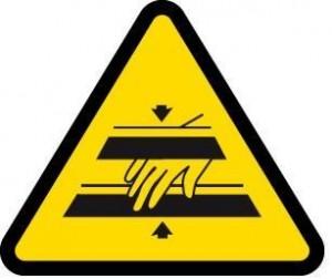 peligro pillarte dedos